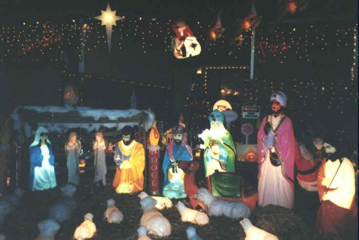 Christmas Decorations By General Foam Plastics Corp