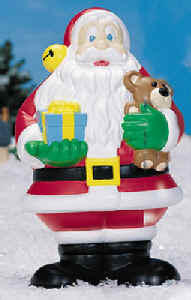 18 inch santa claus by general foam plastics corp item number gf c3580 illuminated