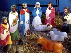 Outdoor Nativity Set (a G3450tn
