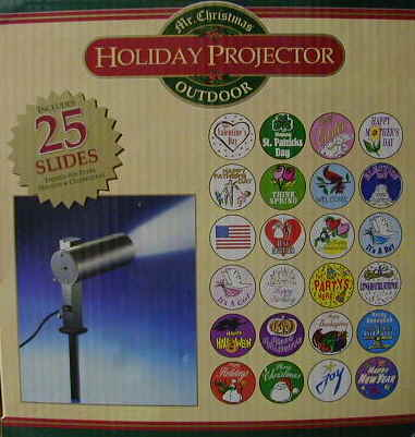 motion amp light projector snow holiday house decoration ebay outdoor holiday - Christmas Outdoor Projector
